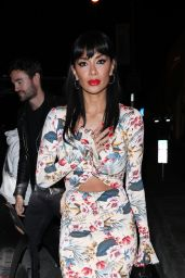Nicole Scherzinger and Thom Evans - Catch LA Restaurant in West Hollywood 02/15/2020