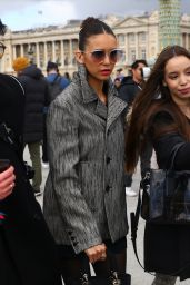 Nina Dobrev – Arrives at the Dior Show in Paris 02/25/2020