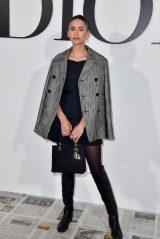 Nina Dobrev – Dior Show at Paris Fashion Week 02/25/2020