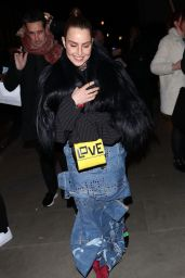 Noomi Rapace – Arriving at the Love Magazine Party in London 02/17/2020