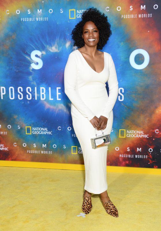 "Novi Brown - ""Cosmos: Possible Worlds"" Premiere in LA"