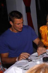 Olivia Culpo and Jasmine Sanders - Superbowl Dinner in Miami 01/31/2020
