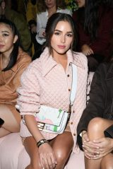 Olivia Culpo - Fendi Fashion Show in Milan 02/20/2020