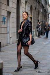 Olivia Culpo - Milan Fashion Week 02/21/2020