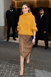 Olivia Palermo - Leaving Her Hotel in Milan 02/22/2020