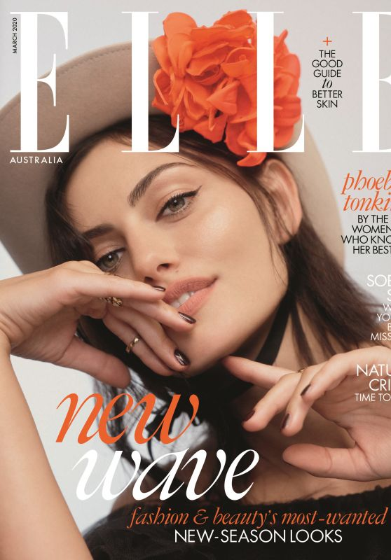 Phoebe Tonkin - Elle Australia March 2020
