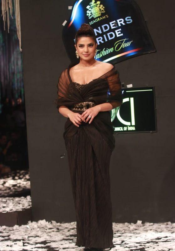 Priyanka Chopra - Blenders Pride Fashion Tour Event in Mumbai 02/22/2020