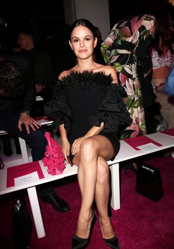 Rachel Bilson - Front Row for Christian Siriano at NYFW 02/06/2020