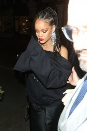 Rihanna - British Vogue and Tiffany & Co. Celebrate Fashion and Film Party 02/02/2020