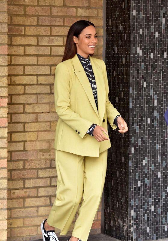 Rochelle Humes - ITV Studios in London 02/25/2020
