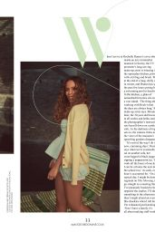 Rochelle Humes - Red Magazine UK April 2020 Issue