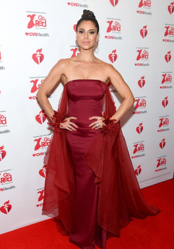 Roselyn Sanchez – Go Red For Women Red Dress Collection 2020 in NYC