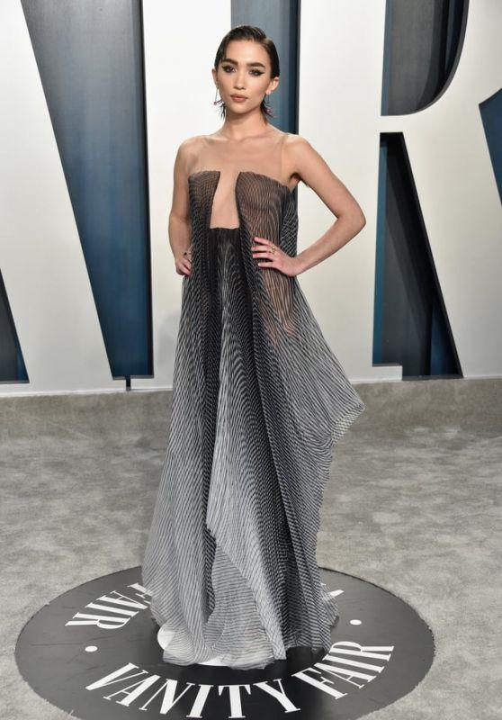 Rowan Blanchard – Vanity Fair Oscar Party 2020