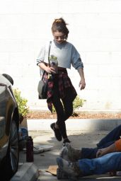 Sarah Hyland - Leaving the Gym in Hollywood 02/20/2020