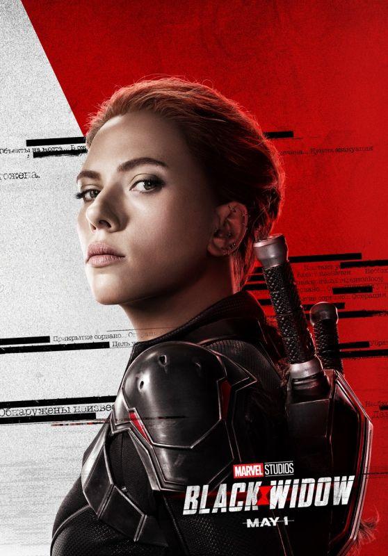 """Scarlett Johansson – """"Black Widow"""" Posters"""
