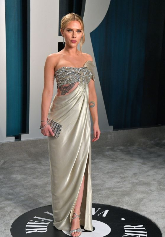 Scarlett Johansson – Vanity Fair Oscar Party 2020