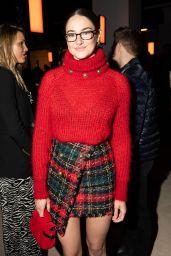 Shailene Woodley – Balmain Fashion Show in Paris 02/28/2020