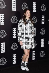 Shailene Woodley - Moncler Fashion Show in Milan 02/19/2020