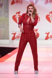 Shania Twain – Go Red For Women Red Dress Collection 2020 in NYC