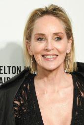 Sharon Stone – Elton John AIDS Foundation Oscar 2020 Viewing Party