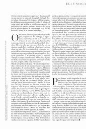 Sienna Miller - ELLE Magazine Spain March 2020 Issue