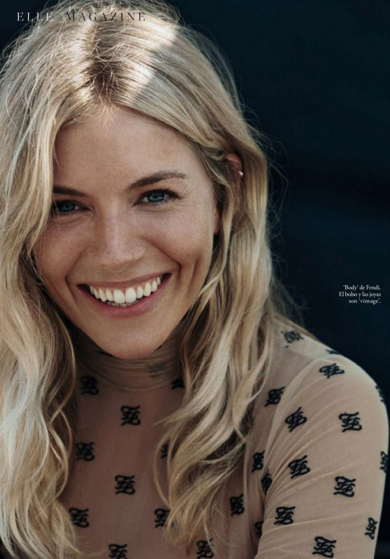Sienna Miller - ELLE Magazine Spain March 2020 Issue
