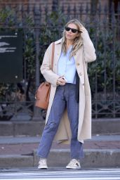 Sienna Miller in Casual Outfit - New York City 02/19/2020