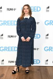 """Sophie Cookson - """"Greed"""" Special Screening in London"""