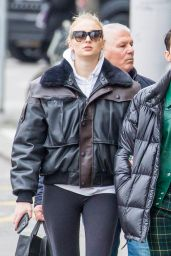 Sophie Turner - Shopping in Zuric 02/13/2020
