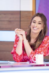 "Stacey Solomon - ""Loose Women"" TV Show in London 02/21/2020"