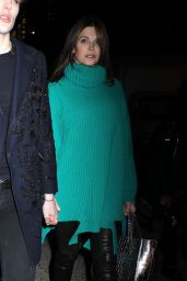 Stephanie Seymour - Leaving the Marc Jacobs Fashion Show in NYC 02/12/2020