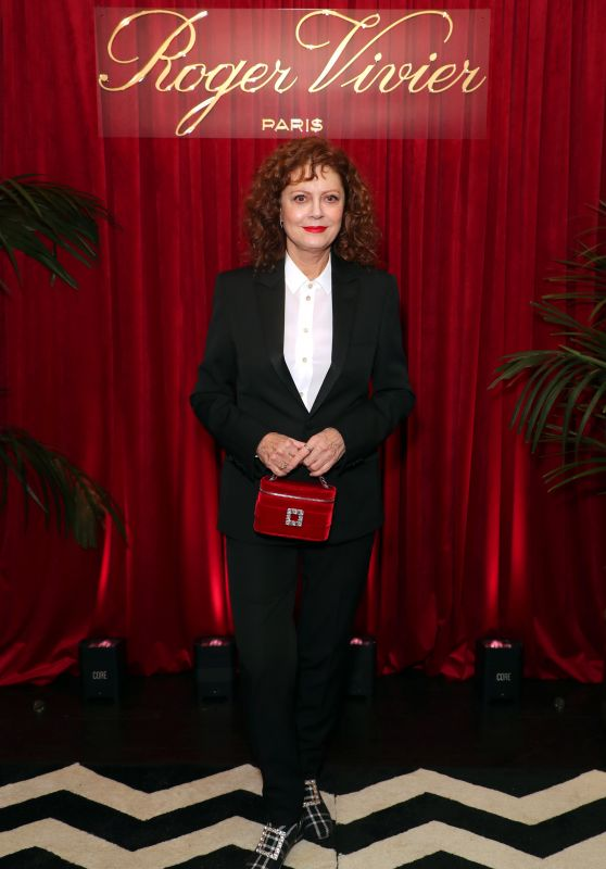 """Susan Sarandon – Roger Vivier Dinner to Celebrate the Release of """"Abrachshoes"""""""
