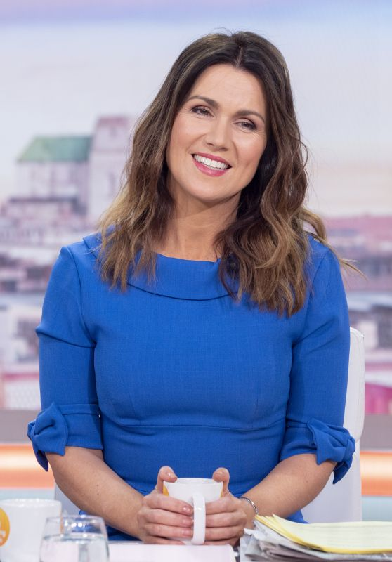 "Susanna Reid - ""Good Morning Britain"" TV Show in London 02/04/2020"