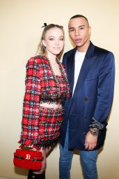 Sydney Sweeney – Balmain Fashion Show in Paris 02/28/2020