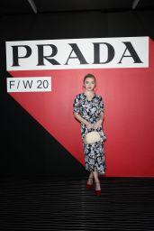 Sydney Sweeney – Prada Fashion Show in Milan 02/20/2020