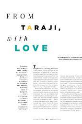 Taraji P. Henson - Essence USA March 2020 Issue