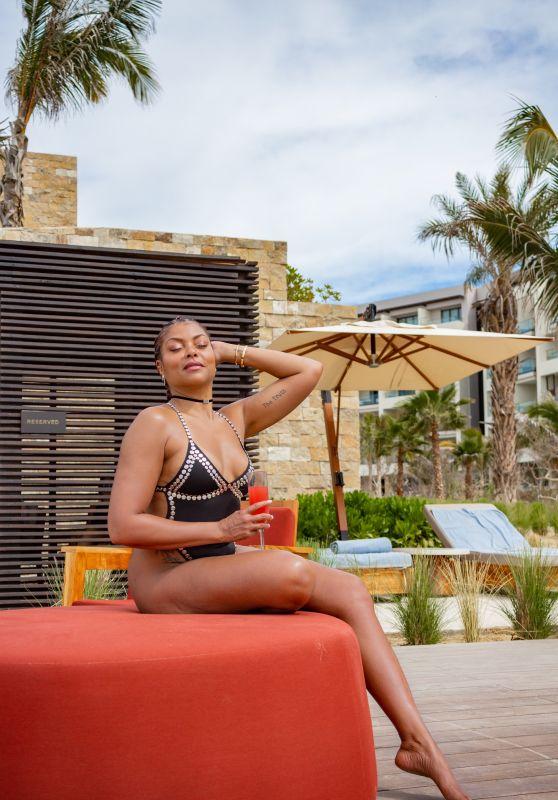 Taraji P. Henson - Nobu Hotel in Los Cabos 02/20/2020