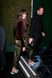Taylor Hill – Arriving at the WME Pre-Oscars Party in Hollywood 02/07/2020