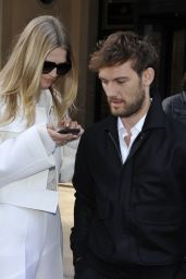 Toni Garrn and Alex Pettyfer - Out in Milan 02/23/2020
