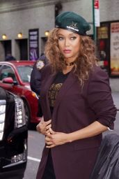Tyra Banks  Style - Out in New York City 02/24/2020
