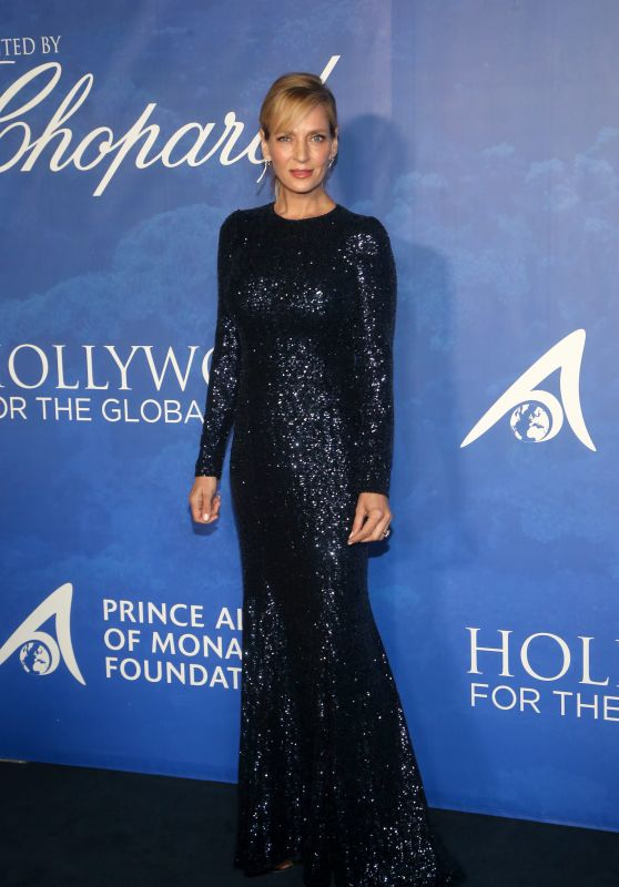 Uma Thurman – 2020 Hollywood for the Global Ocean Gala