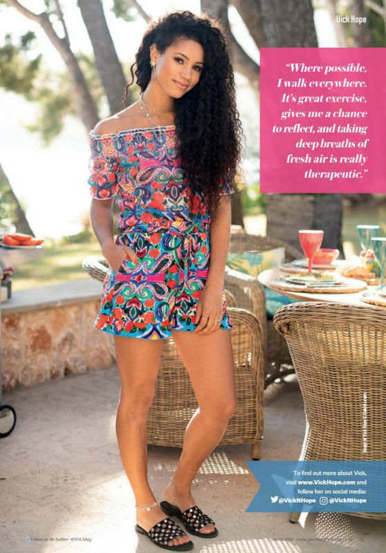 Vick Hope - Your Healthy Living Magazine March 2020 Issue