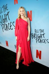 """Virginia Gardner – """"All The Bright Places"""" Special Screening in Hollywood"""