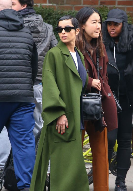 Zoë Kravitz - Out in NYC 02/12/2020