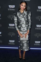 Zoe Saldana – Cadillac Celebrates the 92nd Annual Academy Awards