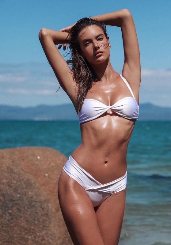 Alessandra Ambrosio - Heats Up Gal Floripa Wave Bikini Line 2020