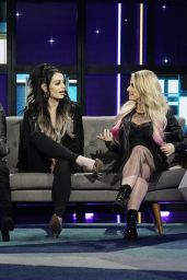 Alexa Bliss, Paige and Natalya Neidhart - A Little Late with Lilly Singh 03/31/2020