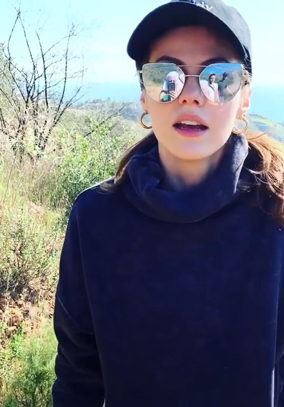 Alexandra Daddario - Live Stream 03/19/2020