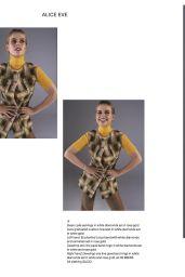 Alice Eve - Glass Magazine Spring 2020 Issue