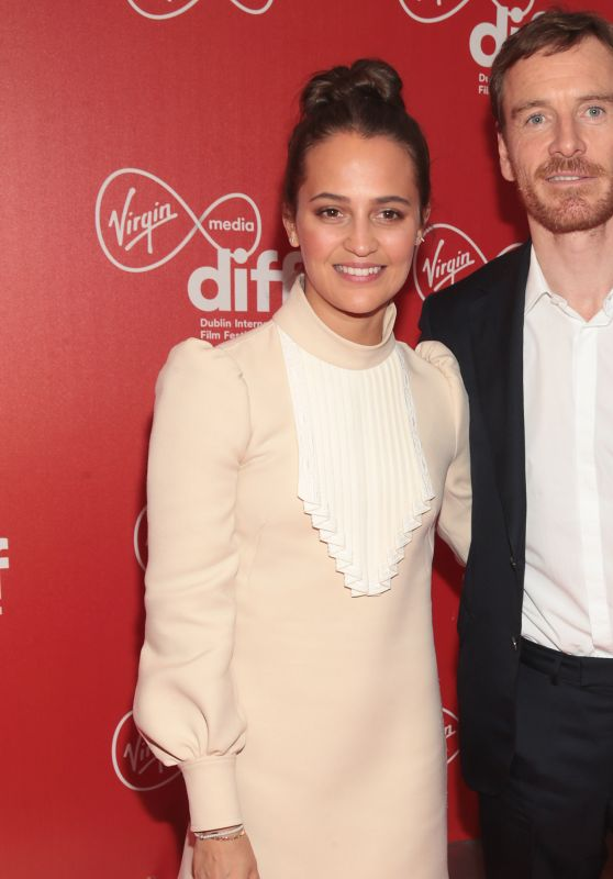 "Alicia Vikander - ""Calm With Horses"" Premiere in Dublin"